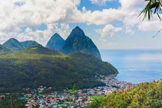 St Lucia is an island hideaway of love, and perfect for a truly romantic place to go in the world   Pic Dmitry S