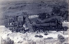 A World War II-era (1944) portable asphalt plant set up by the #Seabees in the Northern Mariana Islands.