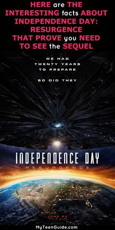 Telling you all about Independence Day Resurgence facts is a day I thought would never come. When it comes to science fiction, disaster movies, it really doesn't get any better than the 1996 Independence Day, right? I can recite so many movie quotes from the original Independence Day. Well, it does get better because now they made the sequel and it is on my list of movies to watch. Independence Day: Resurgence, and it's hitting theaters on June 24, 2016. Are you curious to see how they can…