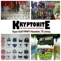 Get Valentine's Day gifts at Kryptonite today!