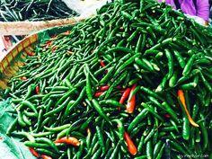 Bangkok für Foodies- Thailand für Genießer: Chinatown mit massenhaft grünen Chillis
