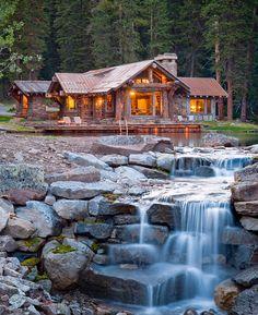 Beautiful waterfall landscape architecture  via decoist  #kuyam