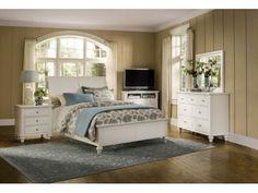Savannah White Bed - Value City Furniture