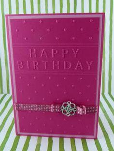 ......mamamisas welt......: Geburtstagskarte elegant, und doch verspielt