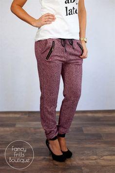 Zipper Jogger Pants! | Jane