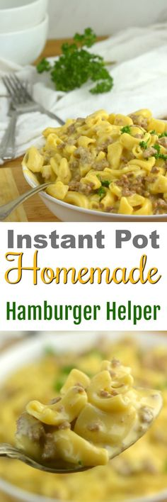 Instant Pot Homemade Hamburger Helper