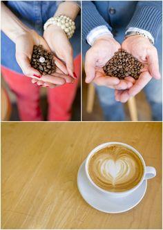 A Washington DC Engagement | Alexandria Harbor – Washington Monument    Coffee shop engagement pics
