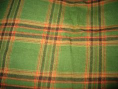 Fall/Halloween Flannel Fabric/Crafts/Sewing/Scarecrows/Supplies