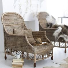 Greywash weekender armchair-would love to spend a couple of hours in these.