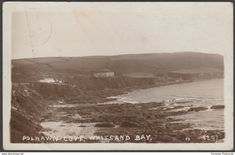 Polhawn Cove, Whitsand Bay, Cornwall, 1923 - RP Postcard
