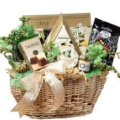 """Art of Appreciation Gift Basket   Savory Sophisticated Gourmet Food Basket with Caviar - Medium by Art of Appreciation Gift Baskets, Send a gift to please the palate with this sophisticated assortment of savory and sweet treats from Art of Appreciation. The """"Savory Sophisticated Gourmet Food Gift Basket with Caviar"""" in medium is handcrafted to impress the foodies in your life whether they be friends, family, or associates.  http://www.amazon.com/dp/B0006B6XI6/ref=cm_sw_r_pi_dp_bhNIrb0ENF348"""