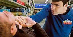 Spock, the friendly Walmart assistant