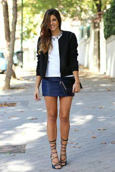 trendy_taste-look-outfit-street_style-mas34-lace_up_sandals-sandalias_cordones-asos-blue_leather_skirt-falda_cuero_azul-baseball_jacket-pg-cazadora_bomber-purificacion_garcia-polaroid-fashion-moda-13 by Trendy Taste, via Flickr