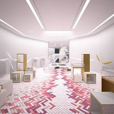The new Stella McCartney store opened today in Vegas!