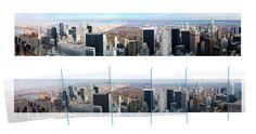 Geen panoramafunctie op je telefoon? Maak 6 overlappende foto's en plak ze in Photoshop eenvoudig aan elkaar! #fotografietip #panorama