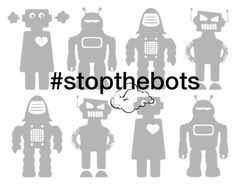 """""""Stop The Robots!!!!"""" by flippintickledinc ❤ liked on Polyvore featuring stopthebots"""