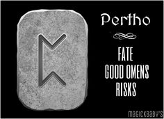 Pertho Glyphs Symbols, Pagan Symbols, Viking Symbols, Viking Art, Ancient Symbols, Egyptian Symbols, Wiccan Runes, Norse Runes, Viking Runes