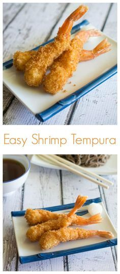 Does your shrimp curl up almost immediately after hitting the hot oil? How do restaurants manage to keep the shrimp so straight? Here's a step-by-step guide on How to Make Shrimp Tempura. Sushi Recipes, Healthy Diet Recipes, Shrimp Recipes, Asian Recipes, Cooking Recipes, Recipes Dinner, Seafood Dishes, Fish And Seafood, Gastronomia