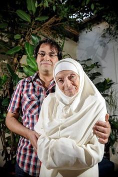 France: Oldest Revert. At 92, Georgette Lapaulle reverts to Islam. Thank you, Sarkozy, your Niqaab ban has helped the cause of Islam so much! Allahu Akbar! oldest-convert-islam.jpg