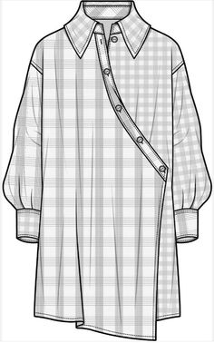 Fashion design sketches 434104851582908213 - LONG SLEEVE SHIRTS fashion flat sketch template Source by marionborneecscp Dress Design Sketches, Fashion Design Sketchbook, Fashion Design Drawings, Fashion Sketches, Dress Designs, Flat Drawings, Flat Sketches, Fashion Design Template, Fashion Templates