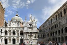 Cour intérieure du Palais des Doges, Venise