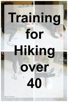 Training for hiking over 40 Thru Hiking, Hiking Tips, Camping And Hiking, Hiking Gear, Hiking Backpack, Camping Gear, Camping Stuff, Hiking Shoes, Hiking Checklist