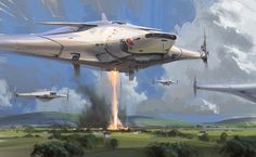 NICK GINDRAUX John Berkey Tribute Digital