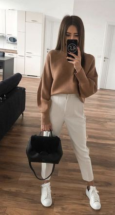 Business Casual Outfits, Professional Outfits, Casual Winter Outfits, Winter Fashion Outfits, Classy Outfits, Look Fashion, Stylish Outfits, Fall Outfits, Look Retro
