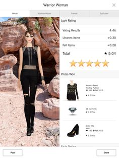 Warrior - Covet Fashion 4.50+ rating