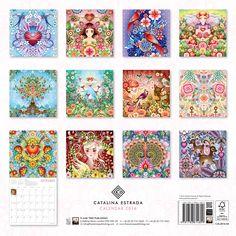 Catalina Estrada wall calendar 2016 (Art calendar): Amazon.co.uk: Flame Tree Publishing: 9781783614899: Books