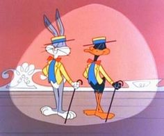 Bugs and Daffy in vaudeville