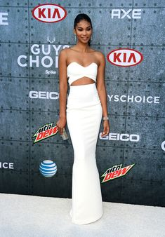 Chanel Iman Photos - Spike TV's Guys Choice 2015 - Arrivals - Zimbio
