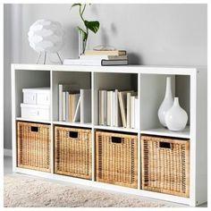 Ikea Living Room Furniture, Living Room Bookcase, Living Room Storage, Home Office Furniture, Living Room Decor, Furniture Design, Furniture Storage, Furniture Ideas, Bedroom Storage