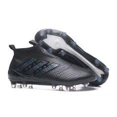 Compre Adidas ACE Tango 17 + Purecontrol TF Sapatos De Futebol Dos Homens Preto Neymar Chuteiras De Futebol Cristiano Ronaldo Futebol Chuteiras De