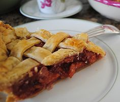 Traditional Cherry Pie Recipie