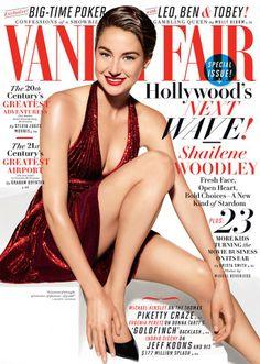 Vanity Fair's July cover star - Shailene Woodley!