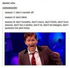 ''How to Survive the Whoniverse...'' (Doctor Who - BBC Series) source: Doctor Who and the T.A.R.D.I.S.