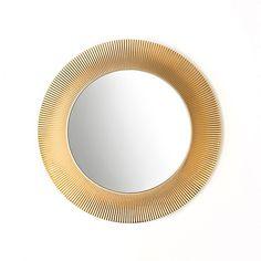 Discover the Kartell All Saints Mirror - Metallic Gold at Amara