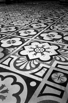 Floor, Duomo, Milan.