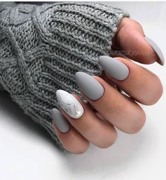 Nails Ideas Almond 61 Most Trendy Almond Matte Nails Idea for Fall and 3 votes 61 Most Trendy Almond Matte Nails Idea for Fall and Winter – Nail Design 61 Most Trendy Almond Matte Nails Idea for Fall and Winter – Nail Simple Nail Art Designs, Winter Nail Designs, Easy Nail Art, Acrylic Nail Designs, Almond Nail Art, Almond Acrylic Nails, Almond Nails, Summer Gel Nails, Winter Nails