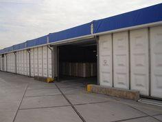 Für Sanierungen von Großflächen ist unsere Jumbo Halle eine gute Übergangslocation.