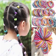Women's Hair Accessories Collection Here Scrunchie Hair Accessories Girls Elastic Hair Bands Ponytail Holder Rubber Bands Hair Accessorio Para El Cabello