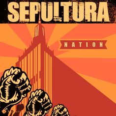 Sepultura - Nation (animated cover) #sepultura #metal #heavymetal #thrashmetal #speedmetal #animatedcovers #gifcover #gifs