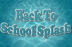 Clarksville Parks and Recreation presents 5th annual Back to School Splash pool party