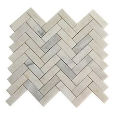 allen + roth Genuine Stone White Marble Natural Stone Mosaic Indoor/Outdoor Floor Tile (Common: 13-in x 13-in; Actual: 13.1-in x 13.2-in)