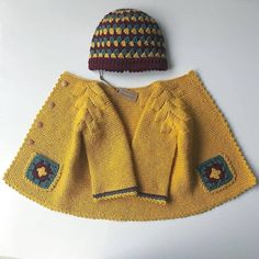 Diy Crafts - 13 Dress Designs For Kids Free Pattern Knit Baby Dress, Knitted Baby Cardigan, Knitted Coat, Hand Knitted Sweaters, Baby Sweaters, Baby Blanket Crochet, Baby Hats Knitting, Knitting For Kids, Easy Knitting Patterns
