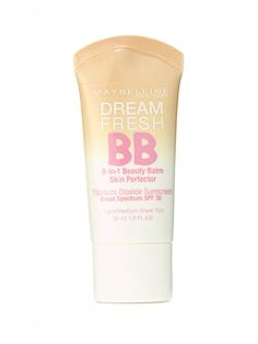 Maybelline New York Dream Fresh BB Sunscreen SPF 30 Not only is this supermoisturizing BB a past Allure Best of Beauty winner, it's also a total steal (you can pick it up at a drugstore for less than $10!). It's oil-free and fairly sheer but can be layered to yield minor-imperfection-masking medium coverage. And though there are just five shades, they cover a surprisingly wide range of skin tones, so most people should be able to find a match.