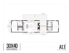 Longhouse Dogtrot - 30X40 Design Workshop