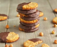 (Paleo) Chocolate-Hazelnut Cookies - My new obsession...soon to be yours too!