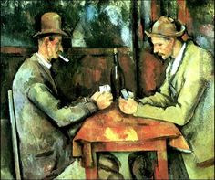 Paul Cezanne : The Card Players II